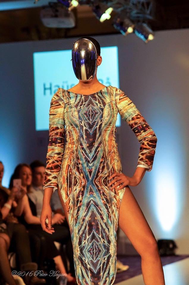 Designer Raahim Khan - Haus of Ra Hair - GroLondon  Model: Natalie Bntm Nwagbo AOFM Pro
