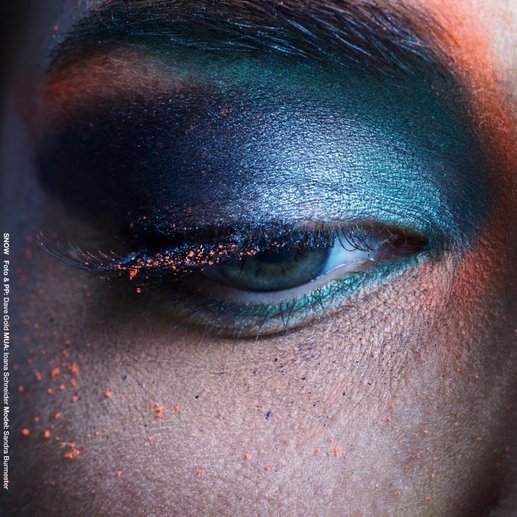 Foto: Dave Gold, Model: Sandra Burmester, Hamburg Make-Up