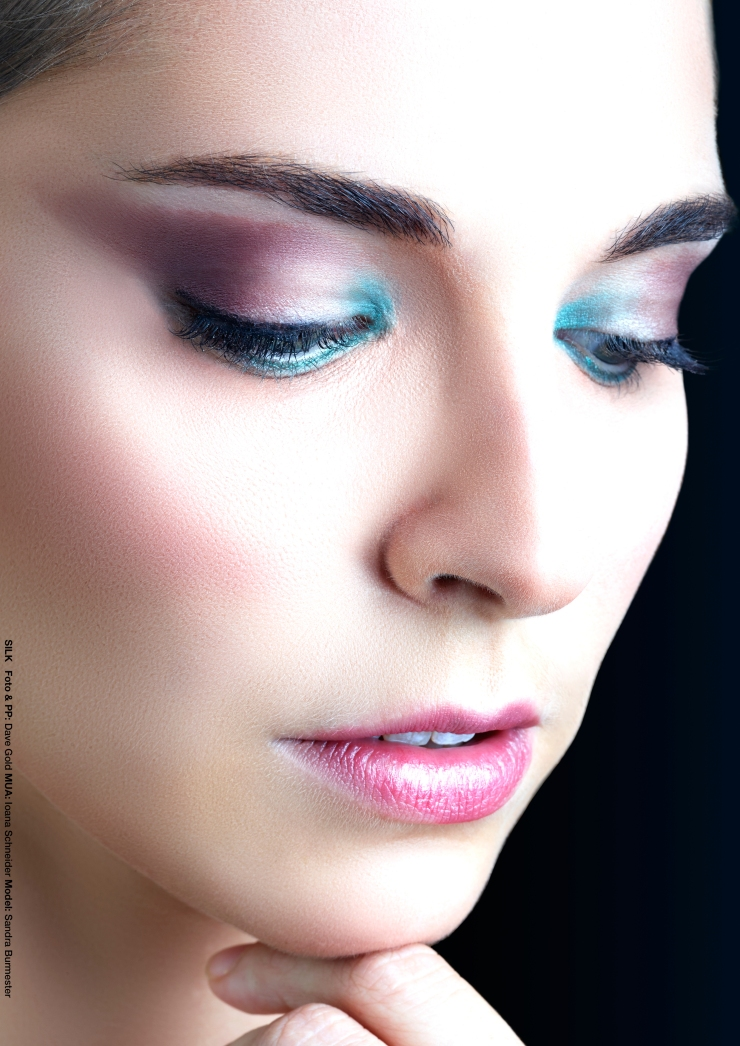 Foto: Dave Gold, Model: Sandra Burmester, Hamburg Make-Up