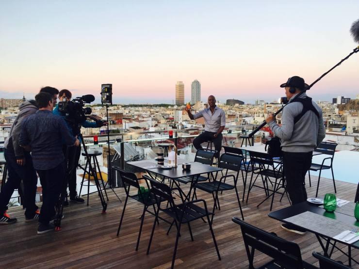 NDR Endlich Urlaub Yared Dibaba Barcelona Dreh